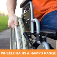 Wheelchairs and ramps range